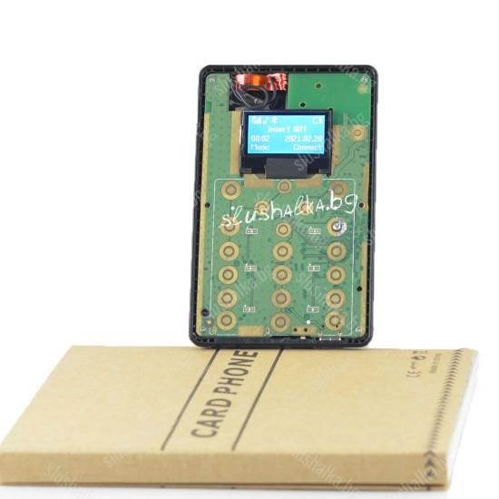 Микрослушалка тип GSM Карта